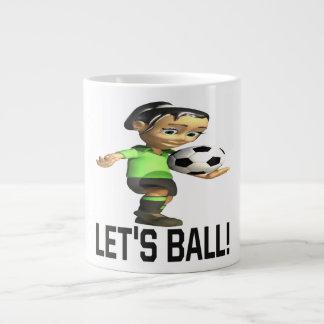 Deja la bola taza extra grande