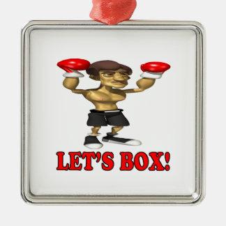 Deja la caja 3 ornamente de reyes