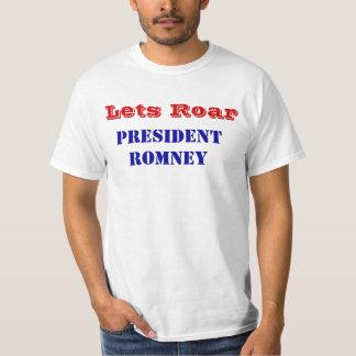 Deja la camiseta de presidente Romney Victory del