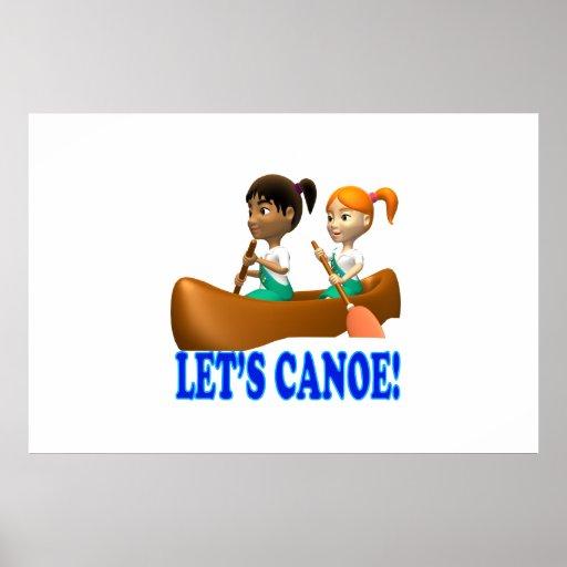 Deja la canoa 2 posters