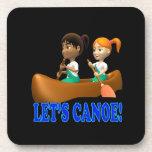 Deja la canoa 2 posavaso