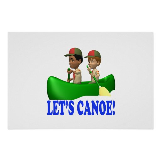 Deja la canoa impresiones