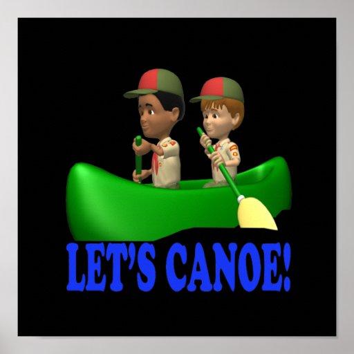 Deja la canoa poster