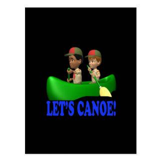Deja la canoa postales