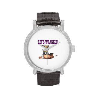Deja la disputa 2 relojes de pulsera