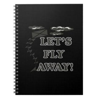 Deja la mosca ausente cuadernos