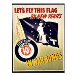 Deja la mosca esta bandera postales