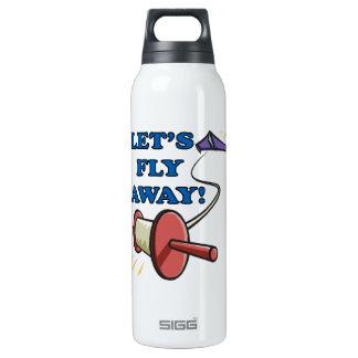 Deja la mosca lejos 2 botella isotérmica de agua