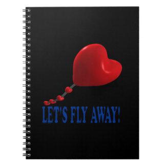 Deja la mosca lejos 3 cuaderno