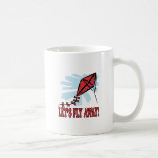 Deja la mosca lejos 4 taza de café