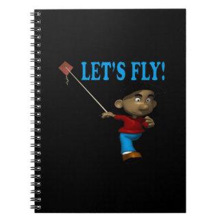 Deja la mosca libro de apuntes con espiral