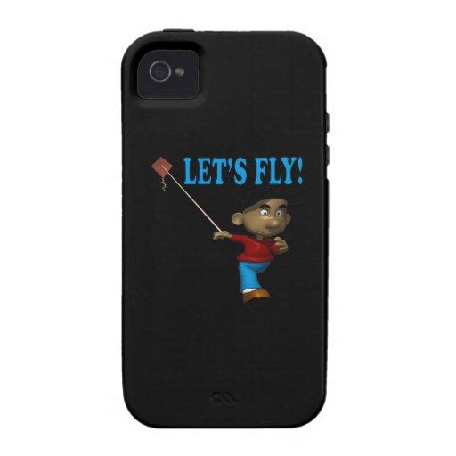 Deja la mosca vibe iPhone 4 fundas