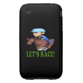 Deja la raza iPhone 3 tough cárcasa