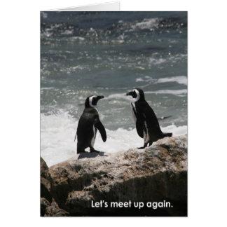 Deja la reunión… tarjeta de felicitación