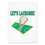 Deja LaCrosse Invitación 12,7 X 17,8 Cm