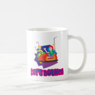 Deja los coches de parachoques de la despedida taza de café