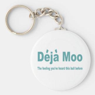 Deja Moo Keychain