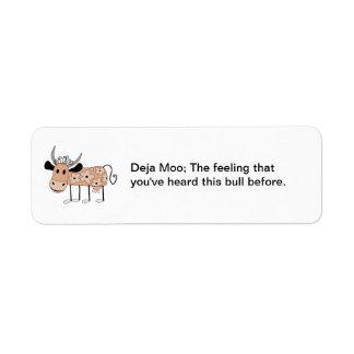 Deja Moo Label