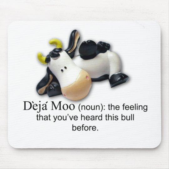 Deja Moo Mouse Pad