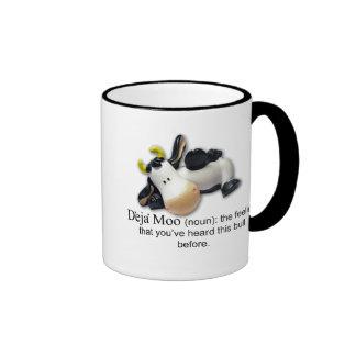 Deja Moo Ringer Coffee Mug