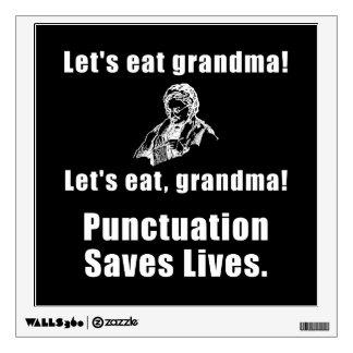 Deja para comer a la abuela