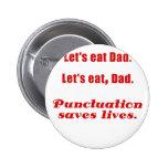 Deja para comer al papá que la puntuación ahorra v pin