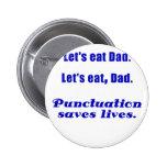 Deja para comer al papá que la puntuación ahorra v pins