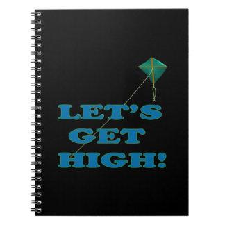 Deja para conseguir alto cuaderno