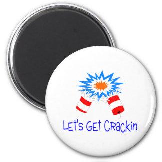 Deja para conseguir el petardo de Crackin Imán Para Frigorífico