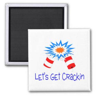 Deja para conseguir el petardo de Crackin Imán Para Frigorifico