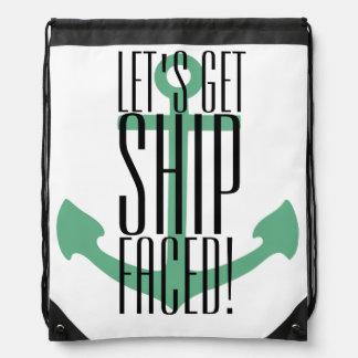 deja para conseguir la nave hecha frente, bolso mochila