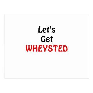 Deja para conseguir Wheysted Tarjeta Postal