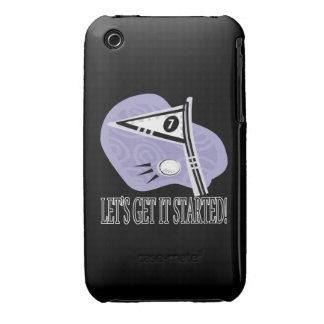 Deja para conseguirlo comenzado funda para iPhone 3 de Case-Mate
