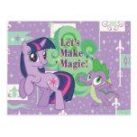 Deja para hacer magia tarjetas postales