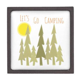 Deja para ir a acampar caja de regalo de calidad