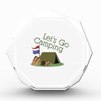 Deja para ir a acampar