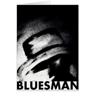 Deja para salir tarjeta del Bluesman