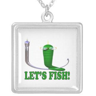 Deja pescados colgante personalizado