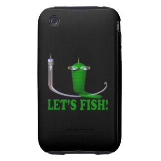 Deja pescados tough iPhone 3 fundas