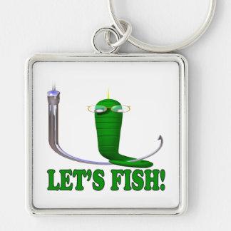 Deja pescados llavero personalizado