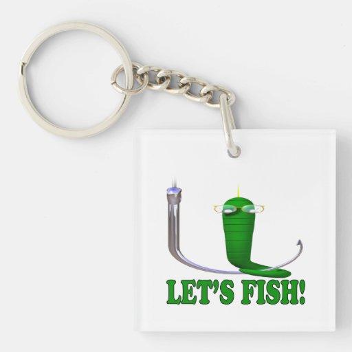 Deja pescados llaveros