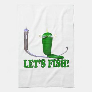 Deja pescados toalla
