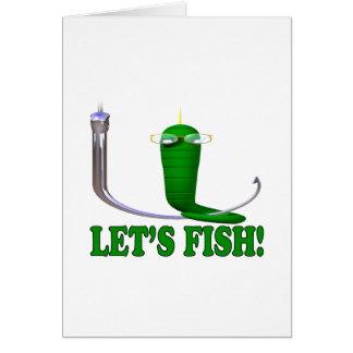 Deja pescados felicitacion