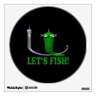 Deja pescados vinilo decorativo
