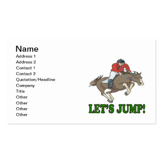 Deja salto tarjetas de visita