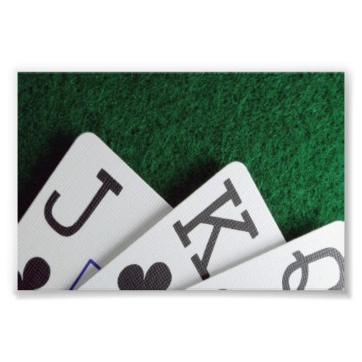 deja tarjetas del juego fotografia