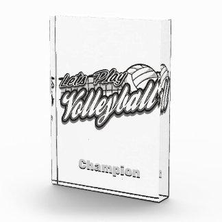 Deja voleibol del juego