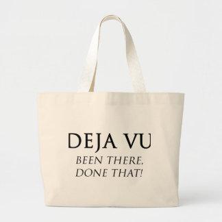 Deja Vu Jumbo Tote Bag