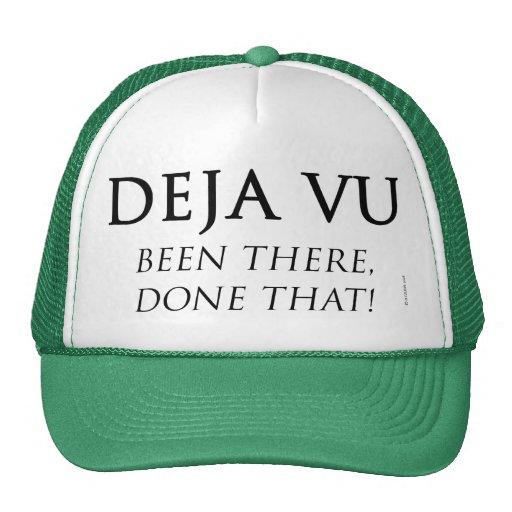 Deja Vu Mesh Hat