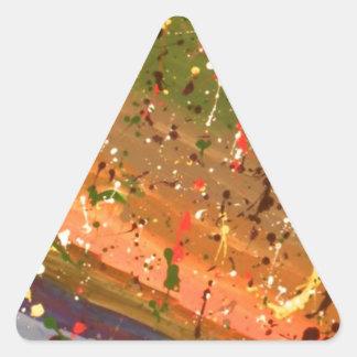 Deja Vu Triangle Sticker